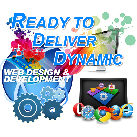 Ready to deliver Dynamic Web Page Design