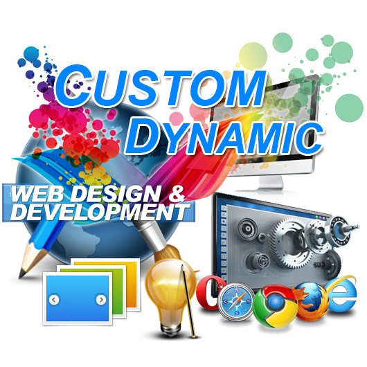 Custom Dynamic Web Page Design