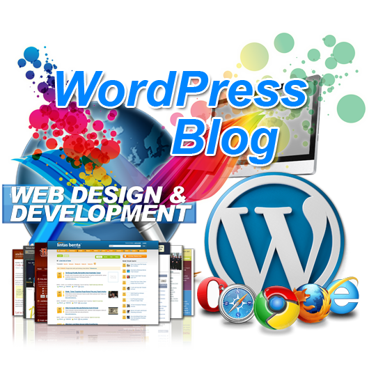 WordPress Blog site design and development
